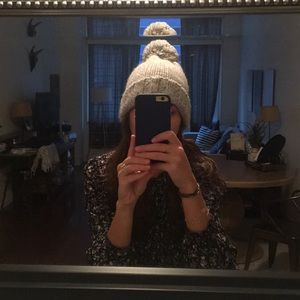Gap - never worn pom hat!